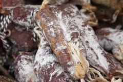 Salami Sausage  Royalty Free Stock Photos