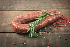 Salami sausage Stock Photos