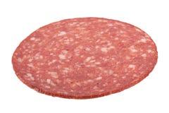 Salami sausage slice Royalty Free Stock Images