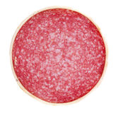 Salami. Sausage Slice Royalty Free Stock Photo
