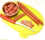 Salami Sausage Stock Images