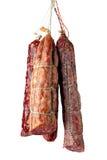 Salami sausages Royalty Free Stock Image