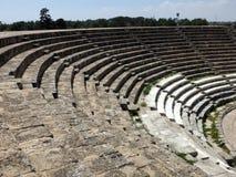Salamier amfiteater, Cypern royaltyfria foton