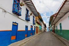 Salamina Caldas Colombia royalty free stock photos