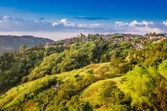 Salamina Cityscape Skyline Caldas Colombia Caldas Colombia stock photos