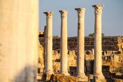 Salamiruïnes Royalty-vrije Stock Afbeeldingen