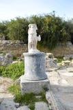 Salamiruïnes in Cyprus stock fotografie