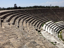 Salamis amphitheatre, Cyprus Royalty Free Stock Photos