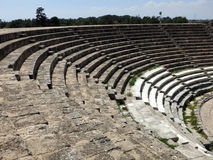Salamis amphitheatre, Cyprus Royalty Free Stock Photos