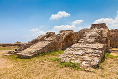 Salamis Ruins Royalty Free Stock Photos