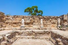 Salamis Ruins Stock Images