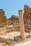 Salamis Ruins. In Northern Cyprus Stock Photos