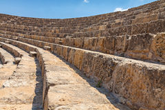 Salamis Ruins. In Northern Cyprus Royalty Free Stock Image