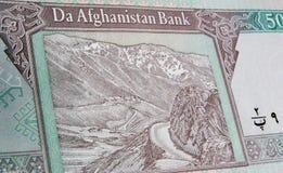 Salang Durchlauf, Banknote Hindukusch-, Afghanistan Stockfotografie
