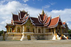 Salapanhong Temple. Is in Thatluang Royalty Free Stock Photography