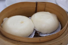 Salapao Dimsum. Steamed pork buns, chinese dim sum Royalty Free Stock Photo