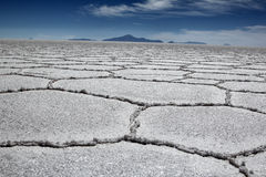 Salar in Bolivia Royalty Free Stock Images