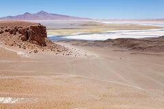 Salar das Tara, Chile Stockfotografie