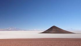 Salar de Arizaro, la Argentina del noroeste Fotos de archivo libres de regalías