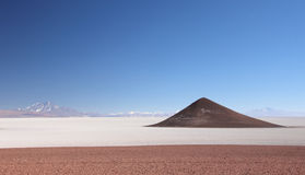 Salar de Arizaro nordvästliga Argentina Royaltyfria Foton