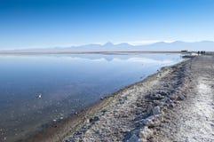 Salar de Atacama fotografia de stock