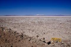 Salar de Atacama au Chili Images libres de droits