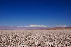 Salar de Atacama in Chile. The salt flats in the Atacama desert in northern Chile Stock Photography