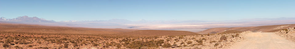 Salar de Atacama panorama, Chile Royalty Free Stock Images
