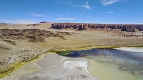 Salar de Tara på den Atacama öknen, Chile Royaltyfri Foto