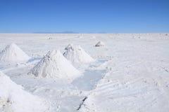 Salar de Uyuni Stockbild