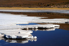 Salar De Uyuni. Biggest salar in the world royalty free stock photography