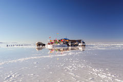 Salar de Uyuni Photos stock