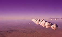 Salar de Uyuni Lizenzfreie Stockbilder