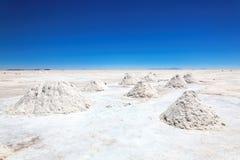 Salar DE Uyuni, Bolivië Stock Fotografie