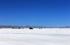 Salar DE Uyuni, Bolivië Stock Foto's