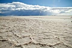 Salar de Uyuni in Bolivia. Royalty Free Stock Photography