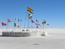 Salar de Uyuni, Bolivia. Fotografia Stock Libera da Diritti