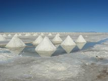 Salar de Uyuni, Bolivia. Stock Photography