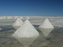 Salar de Uyuni, Bolivia. Royalty Free Stock Image