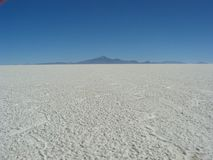 Salar de Uyuni, Bolivia. Royalty Free Stock Photos