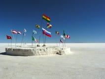 Salar de Uyuni, Bolivia. Stock Images