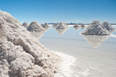 Salar de Uyuni - Bolivia Royalty Free Stock Photography