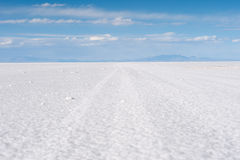Salar de Uyuni - Bolivia Stock Photo