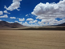 Salar de Uyuni Bolivia Arkivbilder