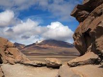 Salar de Uyuni Bolivia Arkivbild