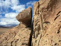Salar de Uyuni Bolivia Photographie stock libre de droits
