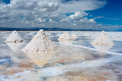 Salar de Uyuni ,  Bolivia Royalty Free Stock Photo