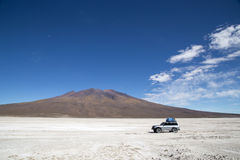 Salar de Uyuni in Bolivia Immagine Stock Libera da Diritti
