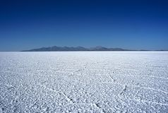 Salar de Uyuni in Bolivia, Bolivia stock photography