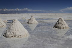 Salar de Uyuni Bolivia Stock Photos